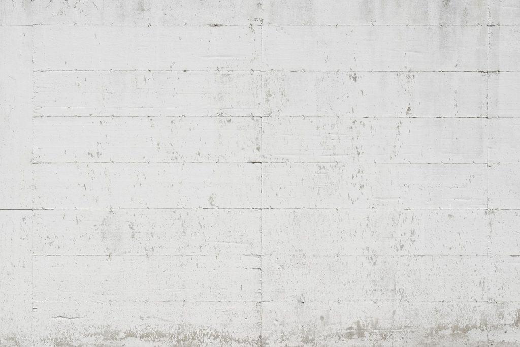 קיר לפני צביעה