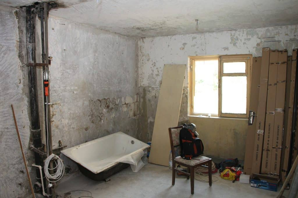 חדר בשיפוץ
